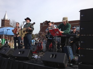 Southerners and Irishmen was on the set list for our Nashville St. Patrick's Day Festival show, 2014