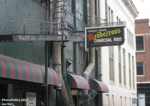 The entrance to the legendary Rendezvous
