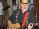 At New Orleans Maple Leaf Bar, last year. I gathered some truck stop recipes on the way from Nashville to play here in 2002