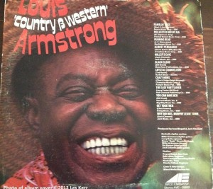 "Nashville's Cowboy Jack Clement produced Louis ""Country & Western"" Armstrong"