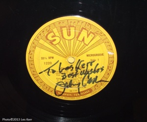 """""""Cowboy"""" Jack Clement wrote songs that appeared on this Sun Record."""