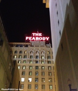 Peabody Hotel-photo by Les Kerr