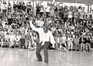 Imitating Elvis Presley, Pascagoula High School, 1973