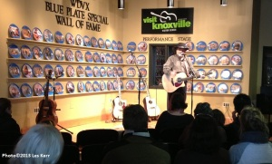 WDVX FM Live concert broadcast from Knoxville Visitors Center
