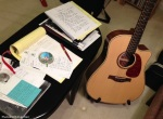 Songwriting tools.
