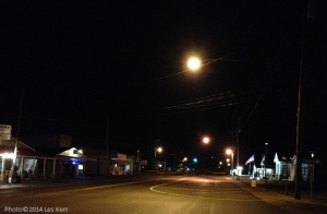Lobelville, Tennessee, around 10:00 p.m. on a January Friday night, 2014