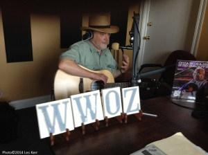 Talking/playing on WWOZ