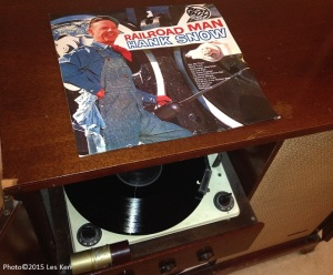 This record, and other train songs by Hank Snow, inspired me to send him The Little Rebel