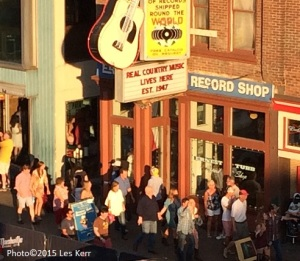 The original Ernest Tubb Record Shop is still going strong on Lower Broadway.