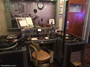 Dewey Phillips' WHBQ studio