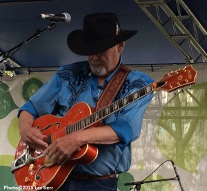 Duane Eddy impressing a Nashville audience with his guitar playing.