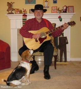 Back home in Nashville, Tennessee with Creole Belle. Merry Christmas from both of us!