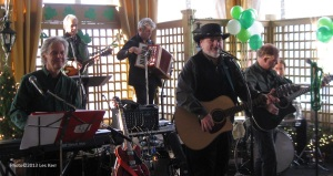 Les Kerr & The Bayou Band perform their annual St. Patrick's Day Concert at Jimmy Kelly's Steakhouse, Nashville, TN